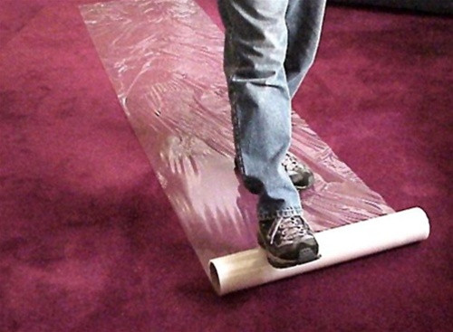 Carpet Barrier Application