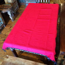 Solid red Falsa blanket