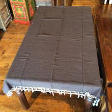 Solid color brown Falsa blanket
