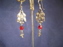 Butterfly Oaxacan Traditional Sterling Earrings- Mexico