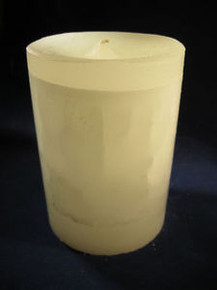 "Handmade Gardenia Scented 3"" Dia. By 4"" Tall Candle"