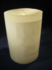 "Handmade Jasmine Scented 3"" Dia. By 4"" Tall Candle"