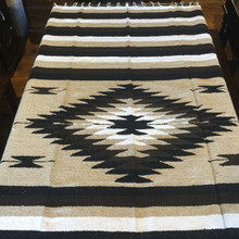 "Large Mexican Falsa blanket 79"" by 50"""