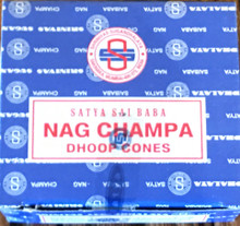 Nag Champa Incense 12 Dhoop Cones Pack