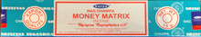 Money Matrix Incense 15 gm/ 15 Stick Box