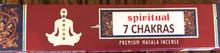Spiritual 7 Chakra Incense 15 gm/ 15 Stick Box