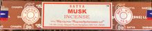 Musk Incense 15 gm/ 15 Stick Box