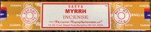 Myrrh Incense 15 gm/ 15 Stick Box