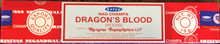 Dragon's Blood Incense 15 gm/ 15 Stick Box