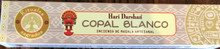 Copal Blanco Incense 15 gm/ 15 Stick Box