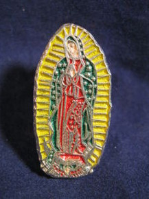 Virgin of Guadalupe Pin from Mexico