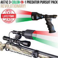 Wicked Lights A67iC 3-Color-In-1 Predator Pursuit Pack Thumbnail