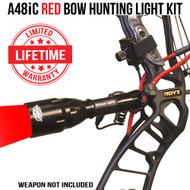 Wicked Lights A48iC Red Bow Hunting Light Kit thumbnail