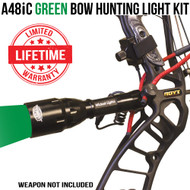 Wicked Lights A48iC Green bow Hunting Light Kit thumbnail