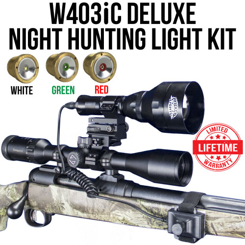 Wicked Lights W403iC Deluxe Night Hunting Light Kit thumbnail