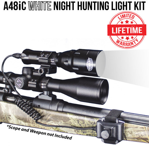 Wicked Lights A48iC White night hunting light kit thumbnail
