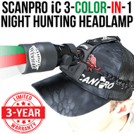 Wicked Lights ScanPro iC 3-Color-In-1 night hunting headlamp kit thumbnail