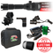 Wicked Lights A51iR 3-LED-In-1 Infrared and Red night hunting light illuminator for night vision contents