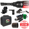 Wicked Lights A67iR 3-LED-iIn-1 Infrared and Red Night Hunting Light Kit contents