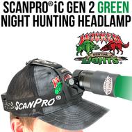 Wicked Lights ScanPro iC Gen 2 Night Hunting Headlamp