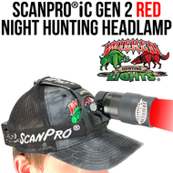 Wicked Lights ScanPro iC Gen 2 Red Night Hunting Headlamp thumbnail