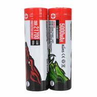 Wicked Lights 21700 Li-Ion Rechargeable Batteries - 2-pack