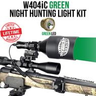 Wicked Lights W404iC Green Night Hunting Light Kit