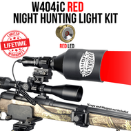 Wicked Lights W404iC Red Night Hunting Light Kit