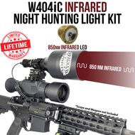 Wicked Lights W404iC 850nm Infrared Night Hunting Light Kit