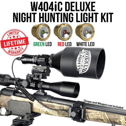 Wicked Lights W404iC DELUXE Night Hunting Light Kit