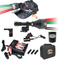Wicked Lights A75iC 4-Color-In-1 Green, Red, White, 850nm Infrared and ScanPro iC Gen 2 3-Color-In-1 Night Hunting Light and Headlamp Combo Kit contents