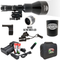 Wicked Lights ShotPro Extreme Range White Night Hunting Light Kit contents