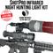 Wicked Lights ShotPro Extreme Range Infrared Night Hunting Light Kit
