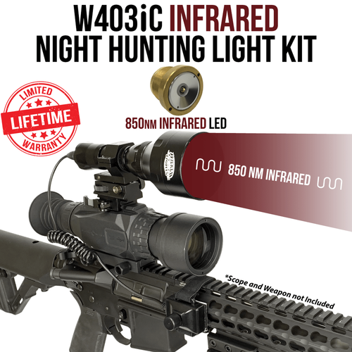 Wicked Lights W403iC Infrared Night Hunting Light Kit