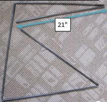 Fiberglass Support Rod