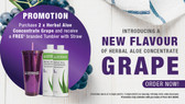 Herbal Aloe Concentrate Grape (Promo)
