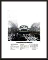 LIFE Magazine - Framed Original Ad - 1968 VW Bug Ad