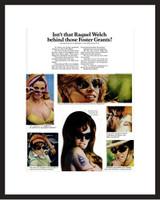 LIFE Magazine - Framed Original Ad - 1968 Sunglasses Ad