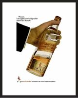 LIFE Magazine - Framed Original Ad - 1967 Johnnie Walker Red Ad