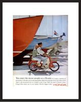 LIFE Magazine - Framed Original Ad - 1965 Honda Trail Bike Ad