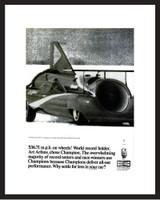 LIFE Magazine - Framed Original Ad - 1965 Champion Spark Plug Ad