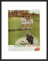 LIFE Magazine - Framed Original Ad - 1962 Coke Ad