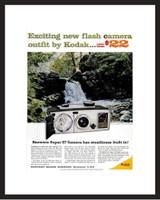 LIFE Magazine - Framed Original Ad - 1962 Kodak Camera