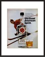LIFE Magazine - Framed Original Ad - 1969 Four Roses Whiskey Ad