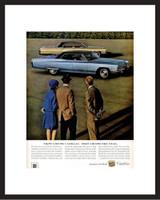 LIFE Magazine - Framed Original Ad - 1967 Cadillac Ad