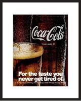 LIFE Magazine - Framed Original Ad - 1967 Coke Ad