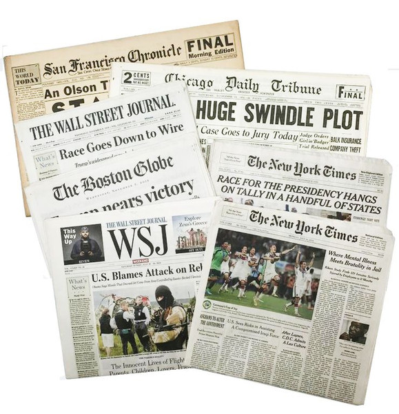 The Day You Were Born Newspaper from Any Date