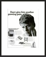 LIFE Magazine - Framed Original Ad - 1964 Remington Electric Shaver Ad