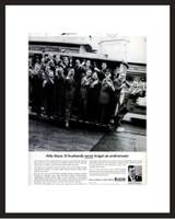 LIFE Magazine - Framed Original Ad - 1964 Bulova Watch Ad