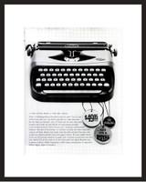 LIFE Magazine - Framed Original Ad - 1960 Royal Typewriter Ad